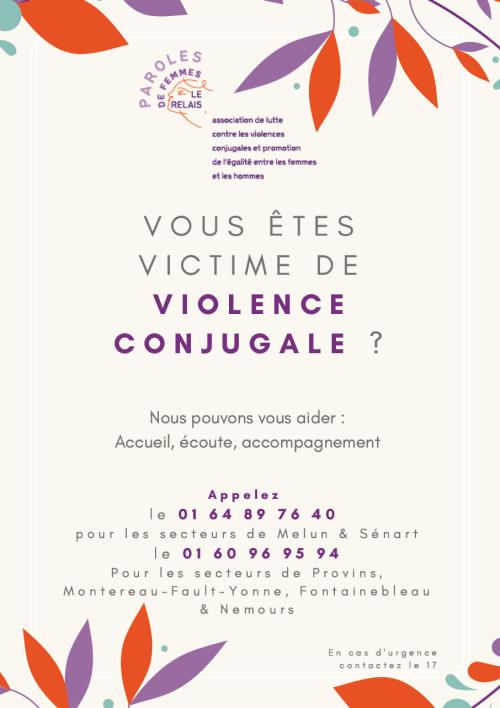 Affiche Paroles de Femmes - Le Relais