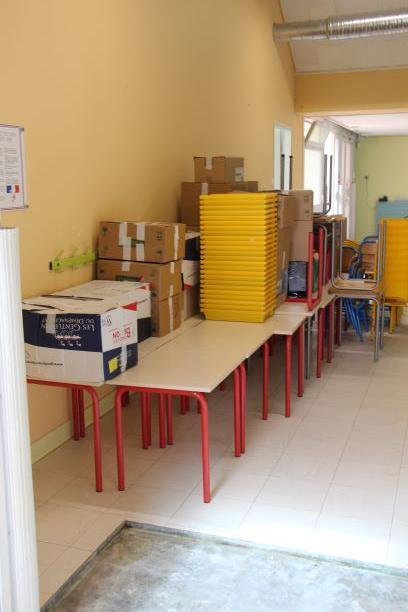 Déménagement école maternelle