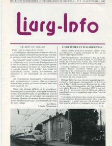Couverture Livry Info n° 2