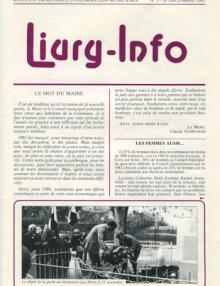 Couverture Livry Info n° 3