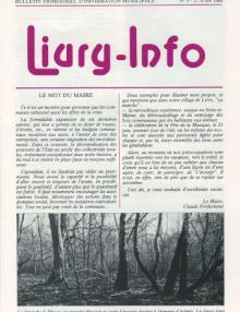 Couverture Livry Info n° 5