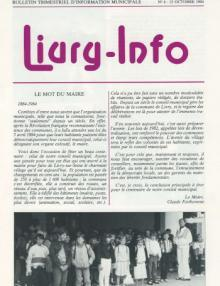Couverture Livry Info n° 6