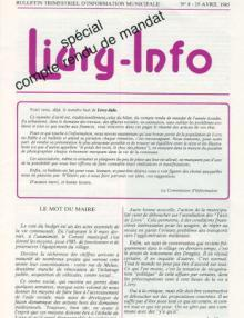 Couverture Livry Info n° 8
