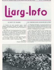 Couverture Livry Info n° 10