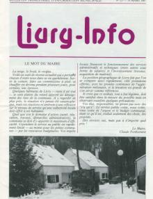 Couverture Livry Info n° 13