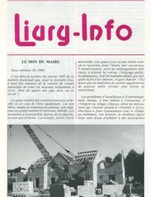Couverture Livry Info n° 16