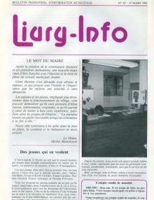 Couverture Livry Info n° 23