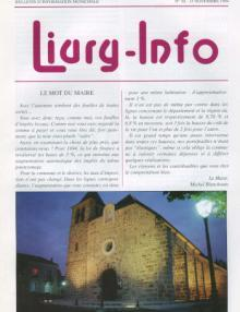 Couverture Livry Info n° 30