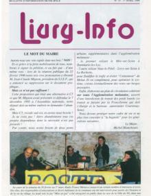 Couverture Livry Info n° 33