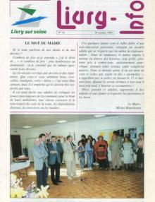 Couverture Livry Info n° 34