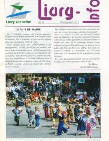 Couverture Livry Info n° 36