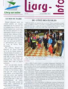 Couverture Livry Info n° 41