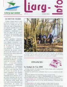 Couverture Livry Info n° 43