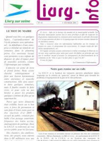 Couverture Livry Info n° 45