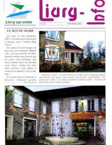 Couverture Livry Info n° 48