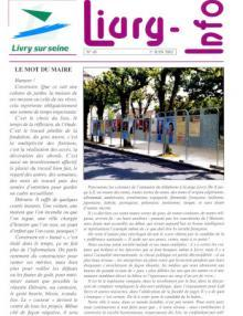 Couverture Livry Info n° 49