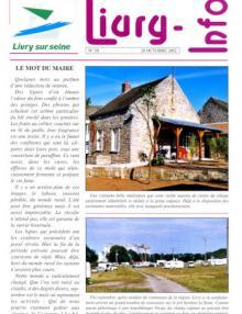 Couverture Livry Info n° 50