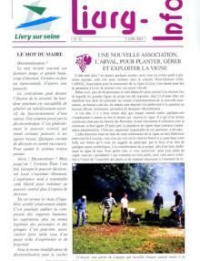 Couverture Livry Info n° 52