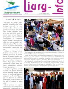 Couverture Livry Info n° 53