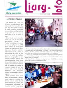 couverture Livry Info n° 54