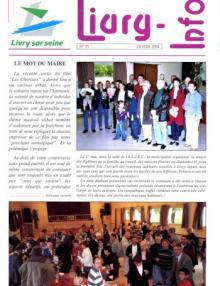 Couverture Livry Info n° 55