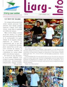 Couverture Livry Info n° 56