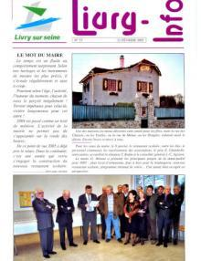 Couverture Livry Info n° 57