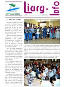 Couverture Livry Info n° 58
