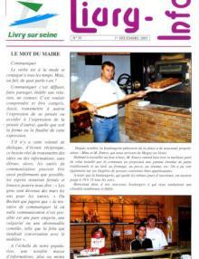 Couverture Livry Info n° 59