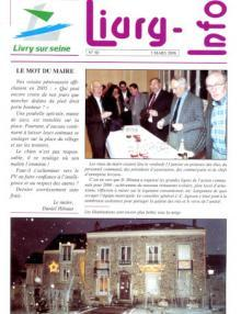 Couverture Livry Info n° 60