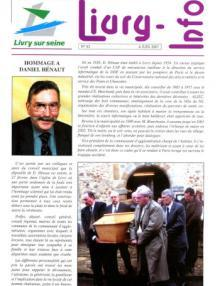 Couverture Livry Info n° 62