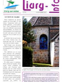 Couverture Livry Info n° 63