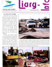 Couverture Livry Info n° 65