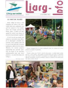 Couverture Livry info n° 67