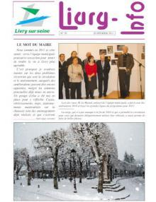 Couverture Livry info n°70