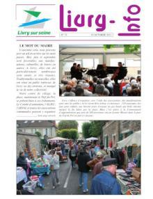 Couverture Livry info n°72