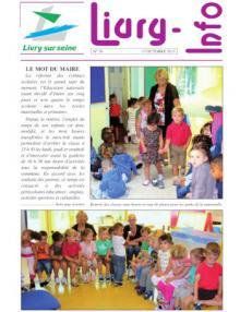 Couverture Livry info n°78