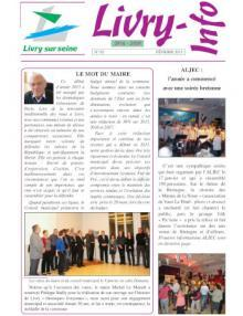 Couverture Livry info n° 82