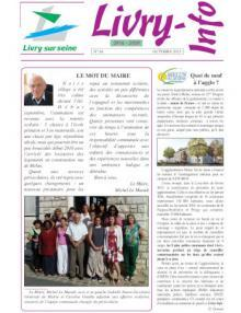 Couverture Livry info n° 84