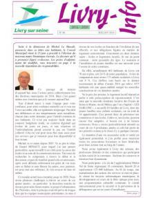 Couverture Livry-info n° 86