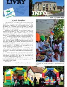 Couverture Livry-info n°87
