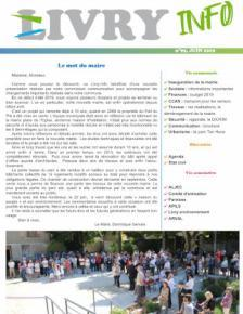 Couverture Livry Info n° 95