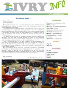 Couverture Livry Info n° 96