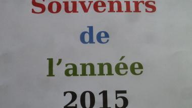 Souvenir de l'année 2015, 01